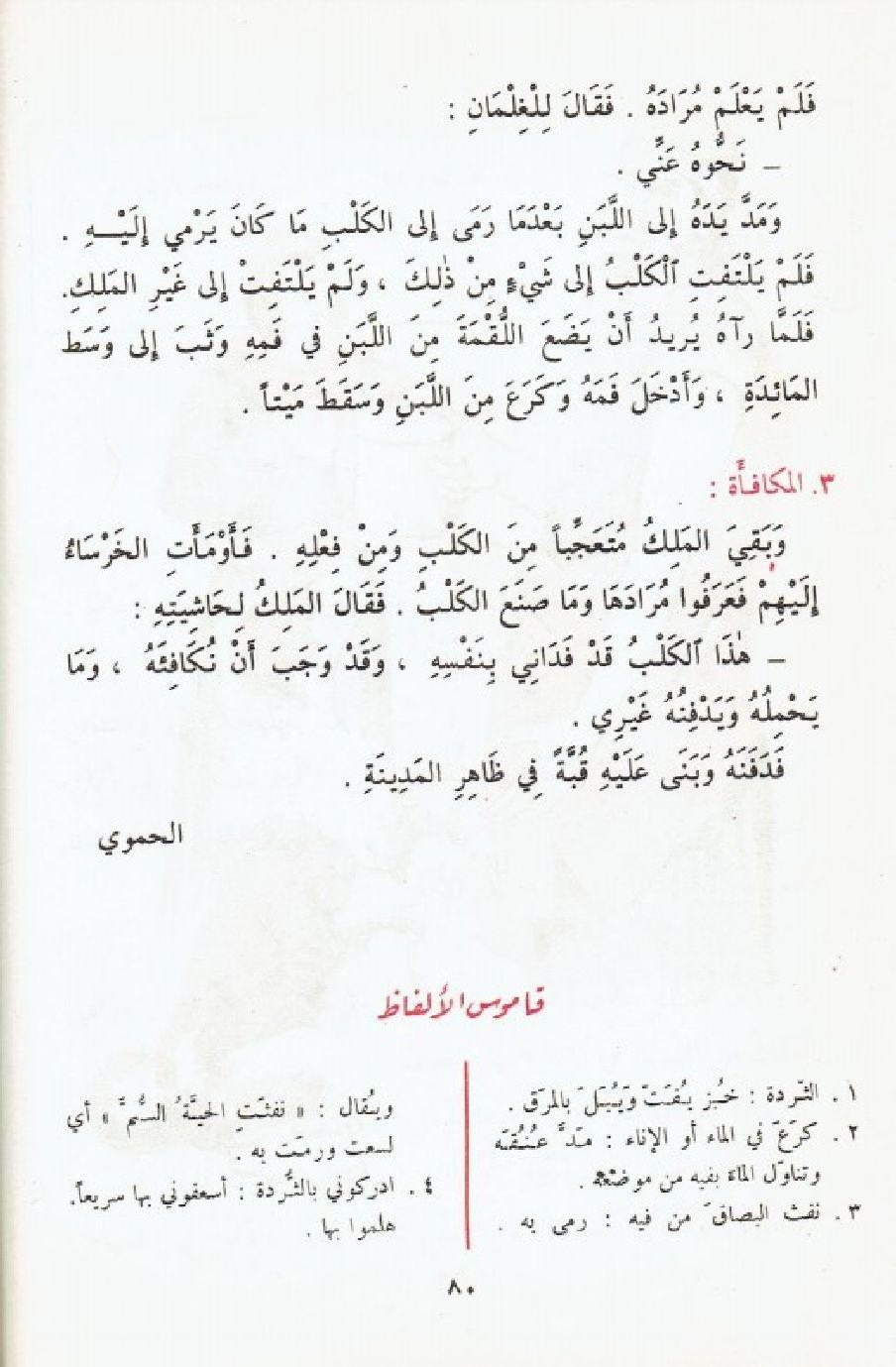 كلب أمين 002 الجديد في الأدب العربي الجزء 1 Words Math Meant To Be