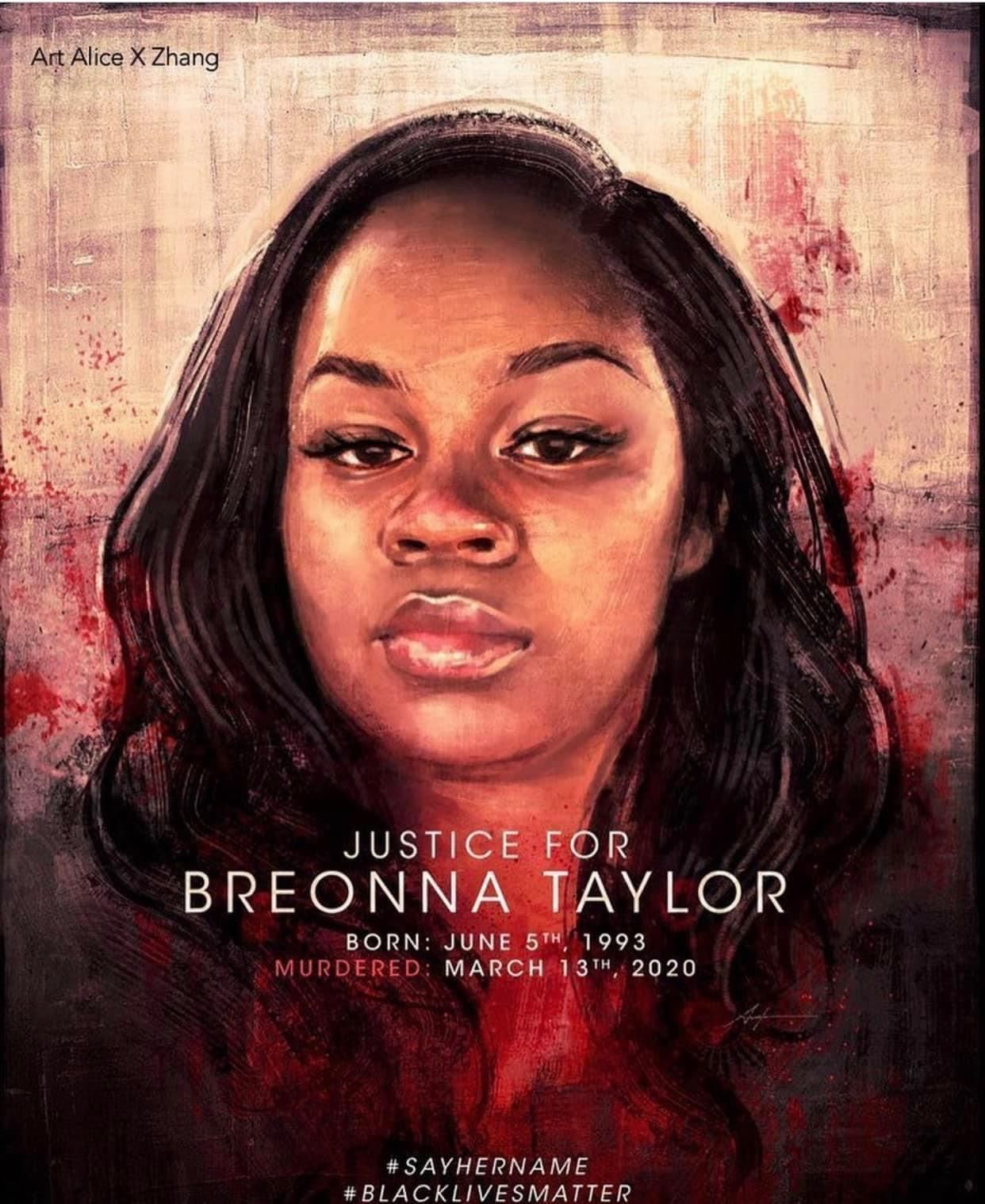 Justice For Breonna Taylor In 2020 Say Her Name Black Lives Matter African American