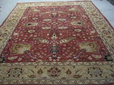 Jvg Fine Wool Rust Gold Rug