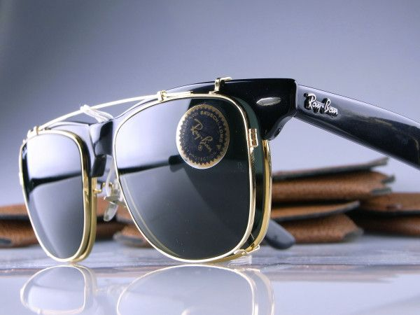 71d149696b WAYFARER MAX II with the same square CLIP-ON in 54mm size