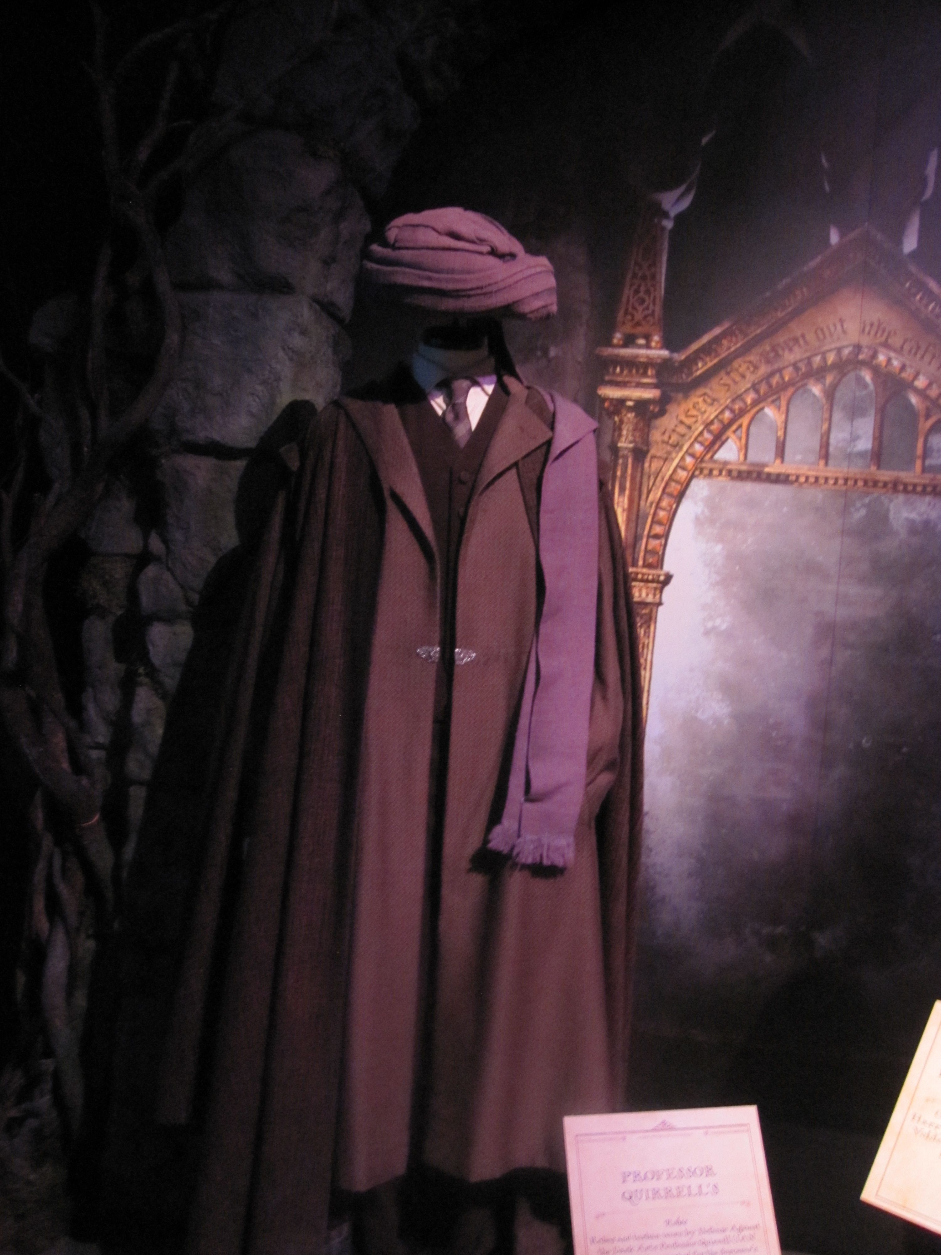 All Sizes The Real Professor Quirrell Costume In The Movie Flickr Photo Sharing Harry Potter Costume Harry Potter Outfits Harry Potter Cosplay