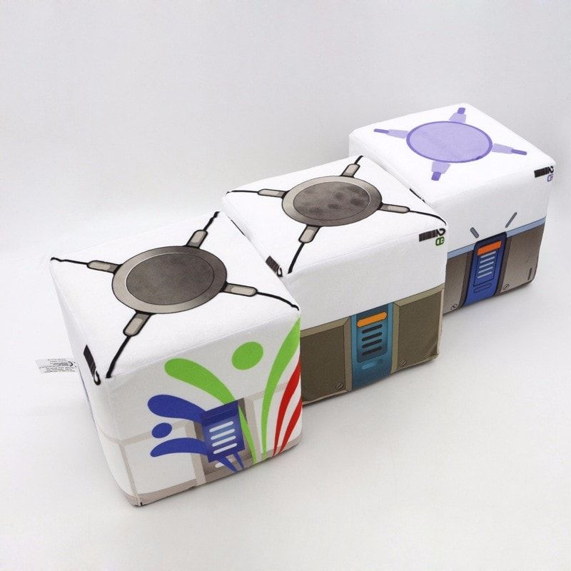 attrayant et durable choisir véritable en vente en ligne Overwatch Loot Box Plush Pillow | Projects to Try in 2019 ...