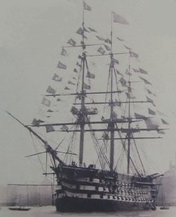 Mahmudiye 250 Three Masted Decked 128 Gun Ottoman Navy Heavy First Rate Battleship Launched 1828 Decommissioned And Scred 1874