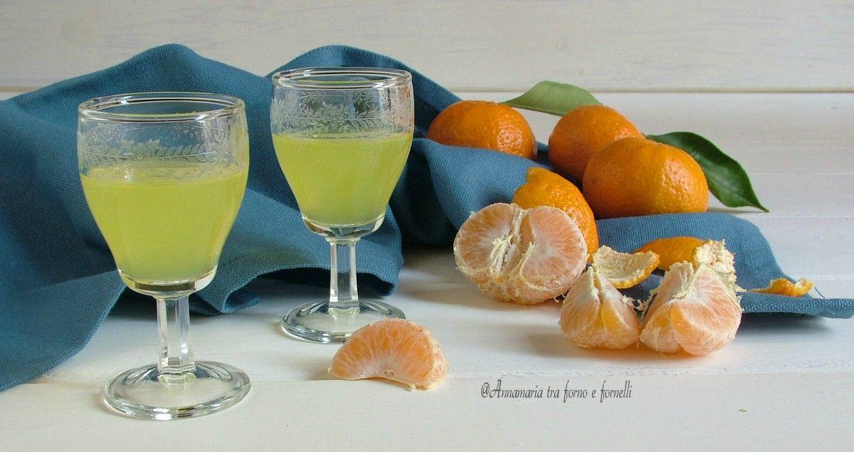 Liquore Al Mandarino Mandarino Liquori E Ricette