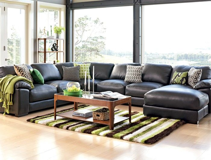 Harvey Norman Sofas And Armchairs 'festival' Leather Corner Lounge Suite With Chaise | Ideas