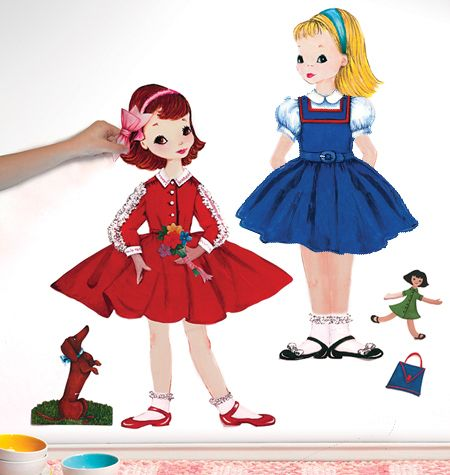 Not Just Paper Dolls A New Way To Play Dress Up Peel And