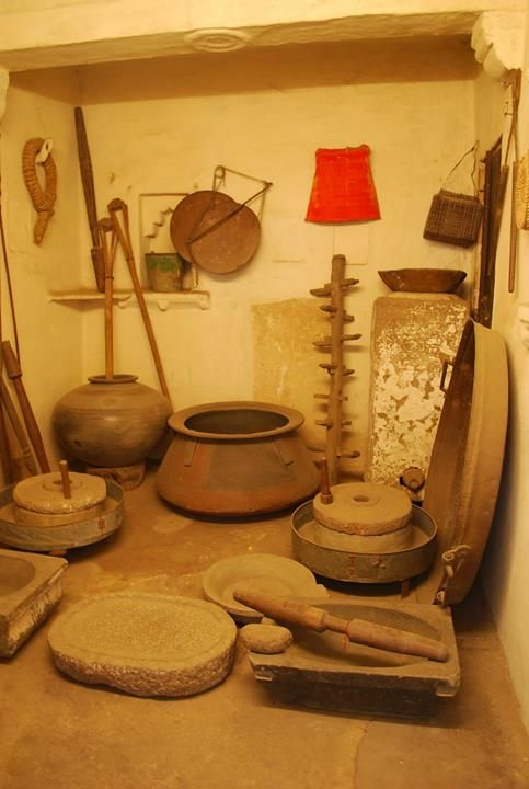 Old Utensils Used In The City Palace Mewar Utensils