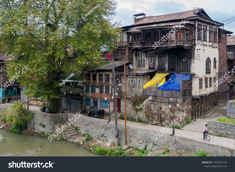 Srinagar Jammu And Kashmir India April 14 2019 Abandoned Building In Old Town Srinagar Jammu And Kashmir India Ancie Jammu And Kashmir Jammu Srinagar