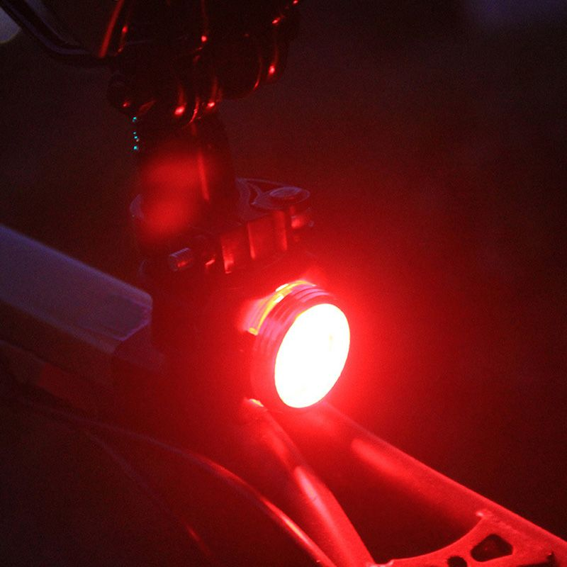 Zk50 Practical Cycling Bicycle Bike 3 Led Head Front Rear Tail