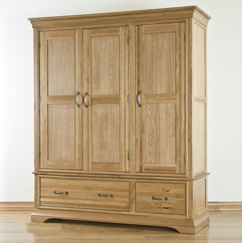 Best Details About Marseille Solid French Oak Furniture Triple 400 x 300