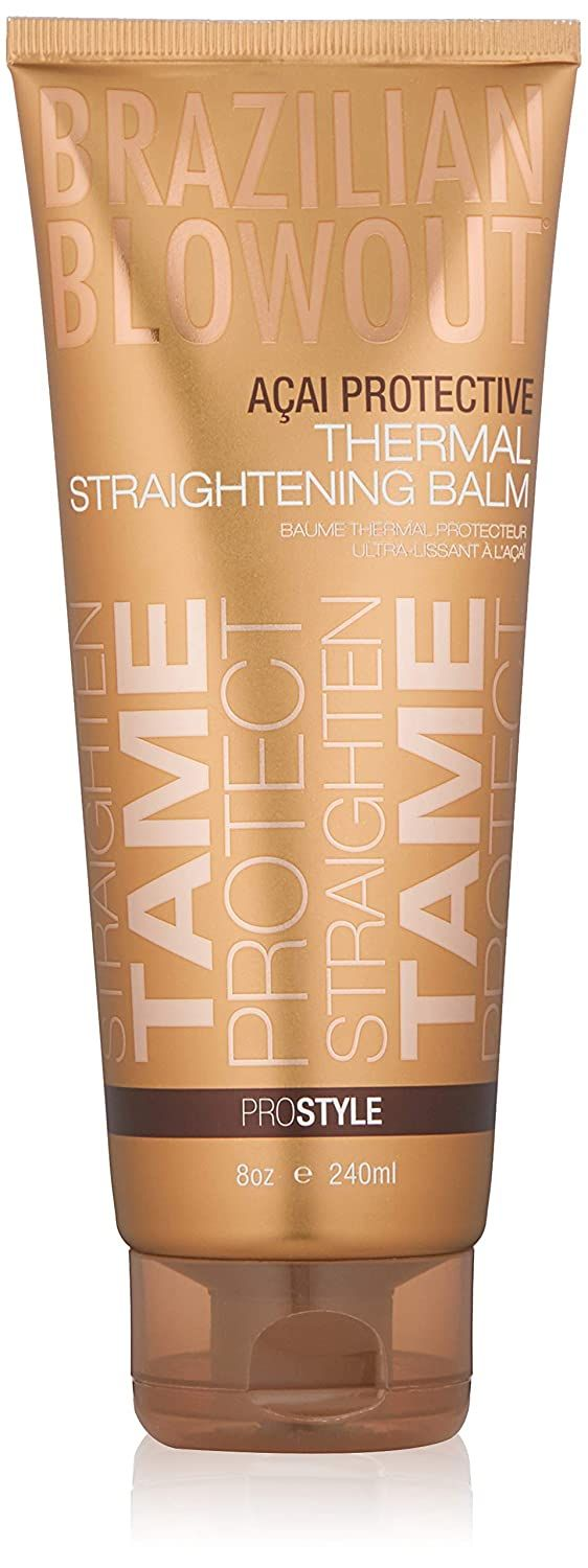 Brazilian Blowout Acai Protective Thermal Straightening Balm, 8oz as low as $14.39! Best Price! - Become a Coupon Queen