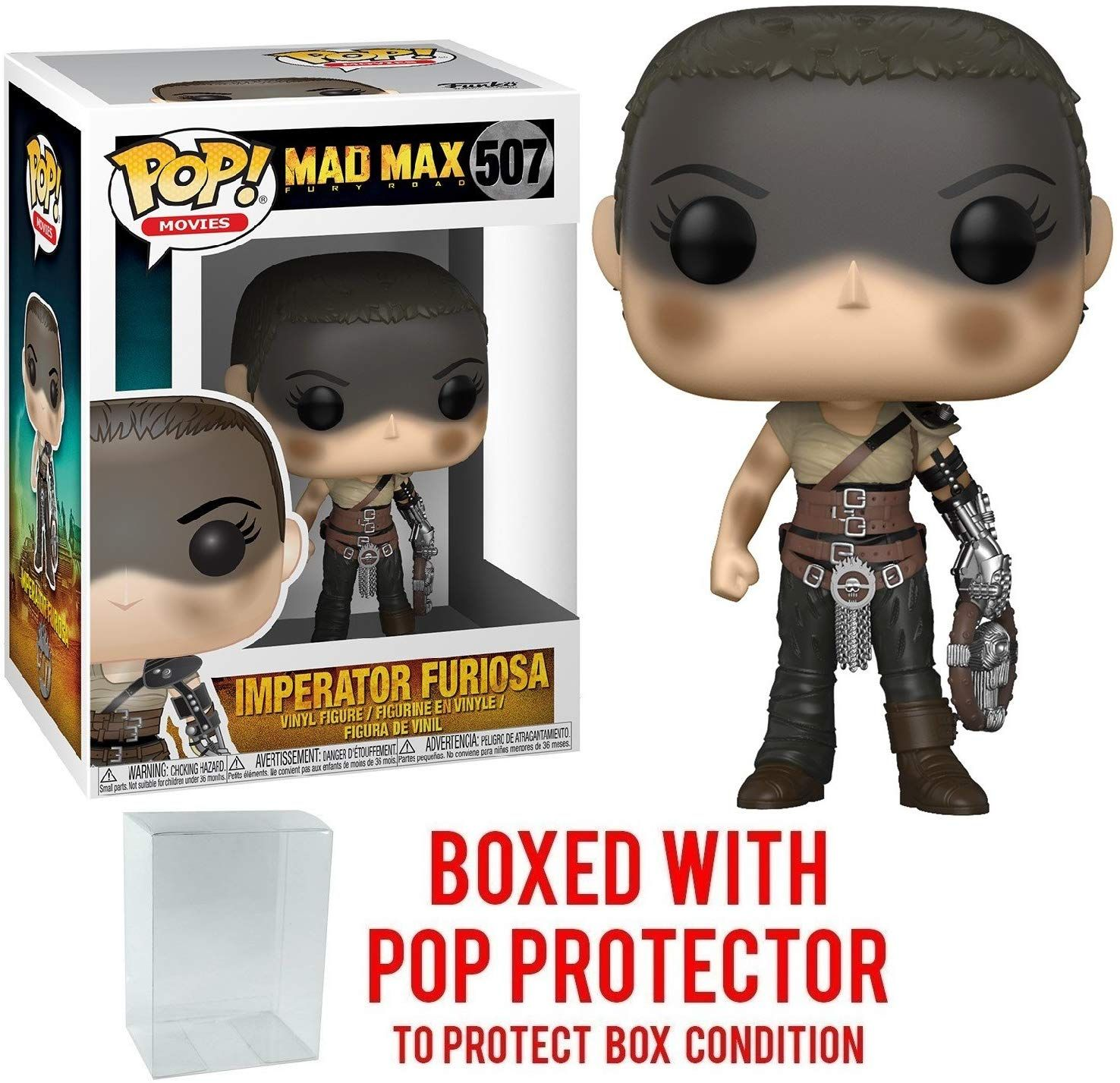 Funko Pop Movies Mad Max Fury Road Imperator Furiosa Vinyl