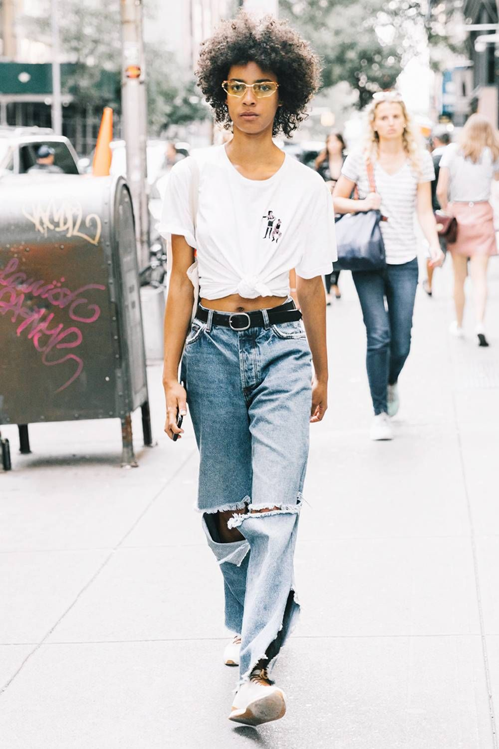 Wear to Trendshow the colored denim trend video