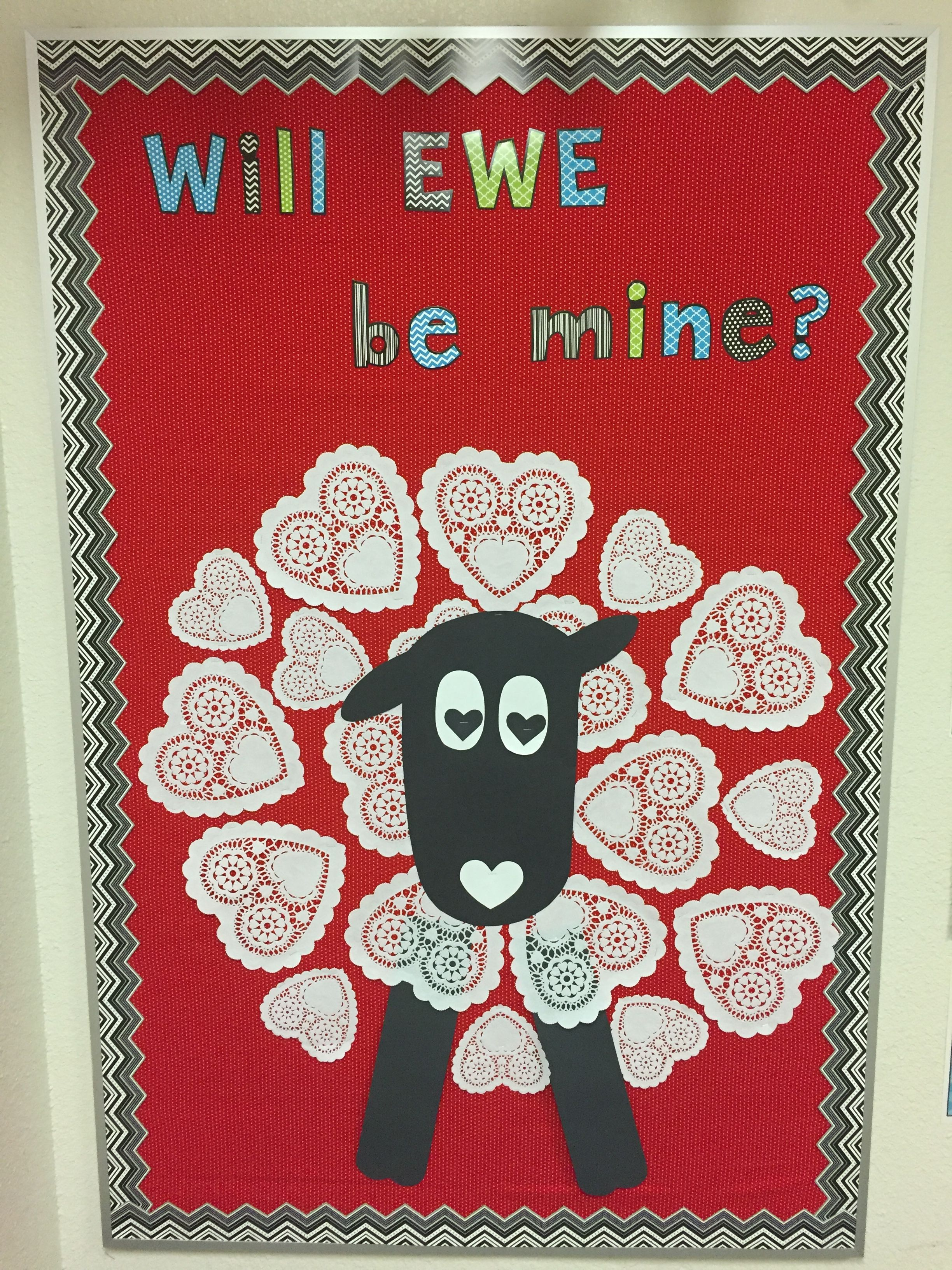 First Grade Valentine S Day Bulletin Board