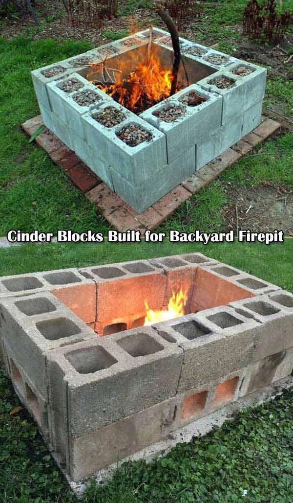 30 gro artige diy ideen um aus ein paar pflastersteinen eine sch ne feuerstelle g nstig zu bauen. Black Bedroom Furniture Sets. Home Design Ideas