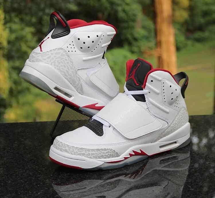 89afac581f1d Air Jordan Son of Mars Kids White Red Black 512246-112 Size 5.5Y WMNS 7   Jordan  BasketballShoes