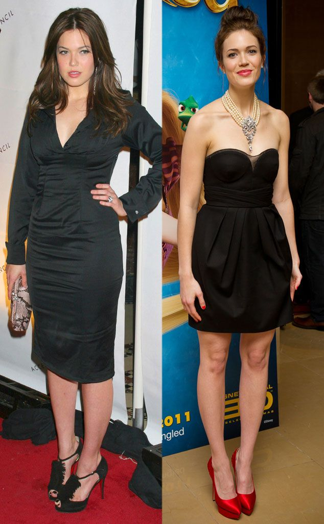 Mandy Moore From Celebrity Weight Loss