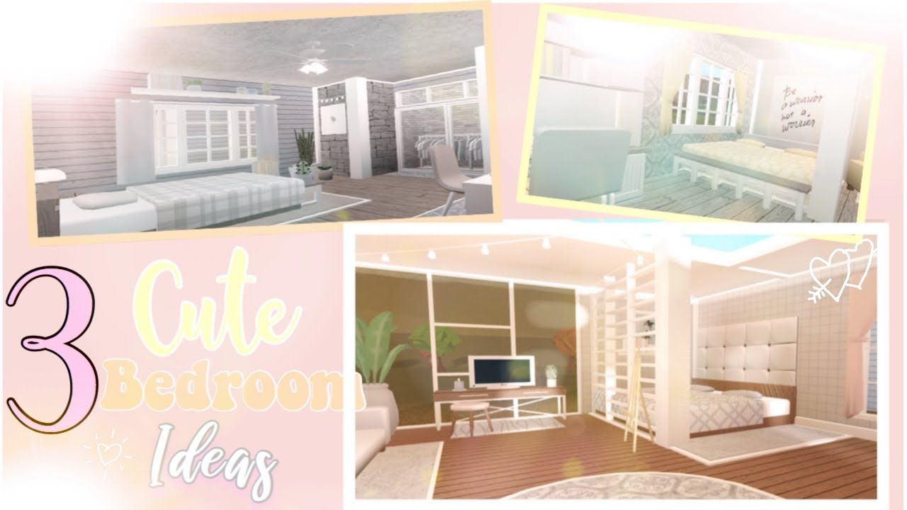 3 Cute Bedroom Ideas Roblox Bloxburg Youtube Cute Bedroom Ideas Tiny House Bedroom Simple House Plans