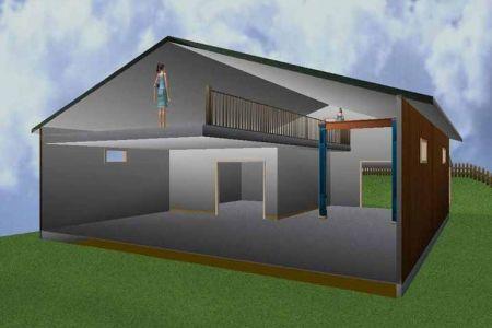 20x80 Metal Building 20x20 Pole Building Plans In Addition Shop