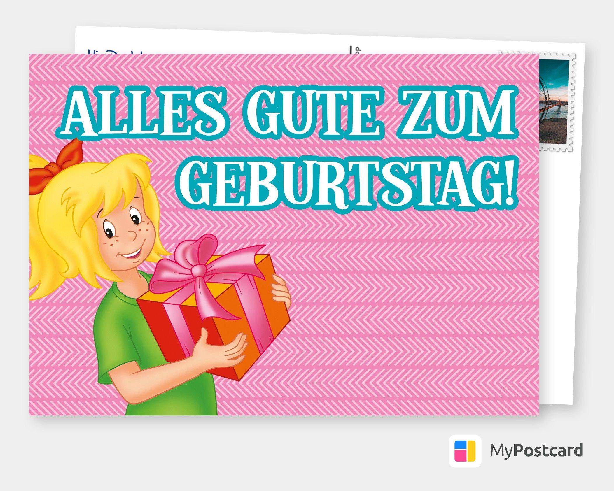 Bibi Blocksberg Alles Gute Zum Geburtstag Geburtstagskarten