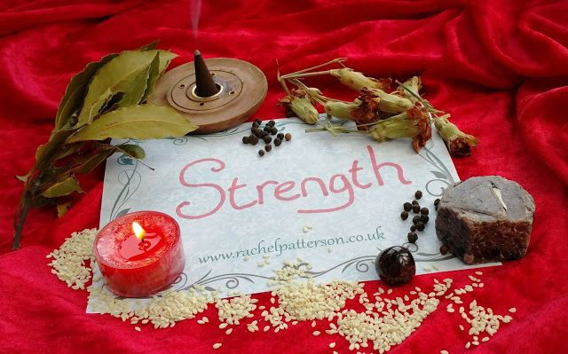 Rachel Patterson - Witch & Author: Working Magic...STRENGTH