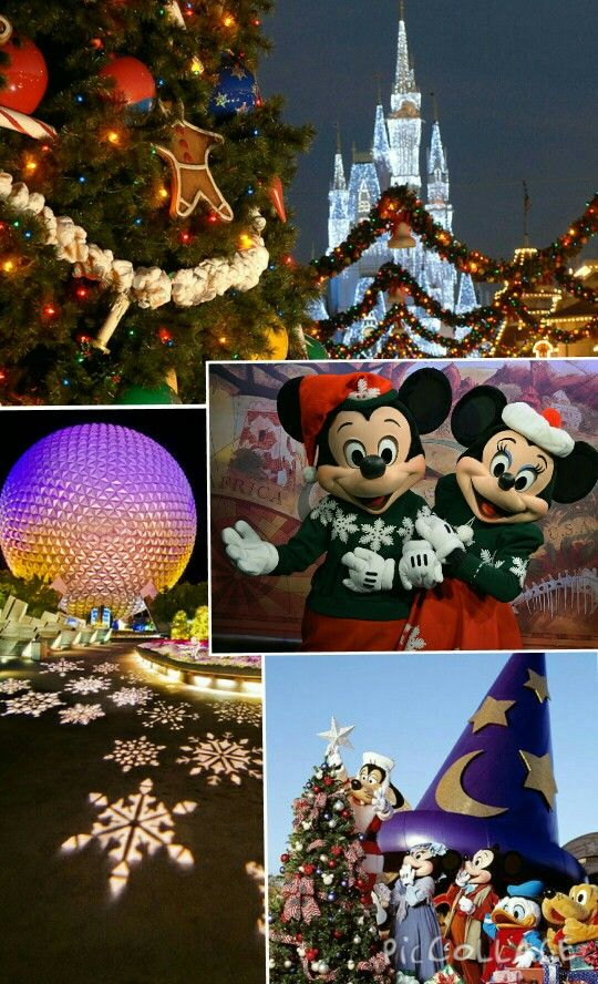 Disney Christmas Phone Wallpaper