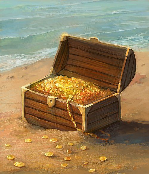 Сокровища моря картинка