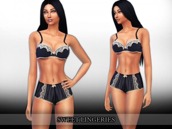 The Sims Resource  Sweet Lingeries by Saliwa • Sims 4 Downloads ... fa2ab5af9