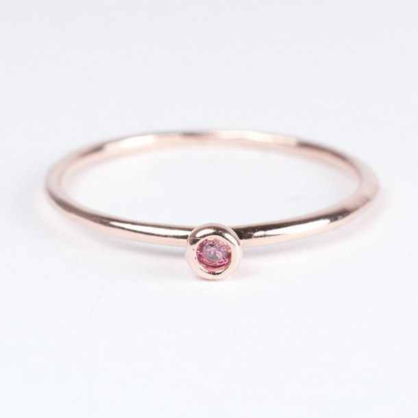 eu.Fab.com   Rosy Delicate One Ring Pink