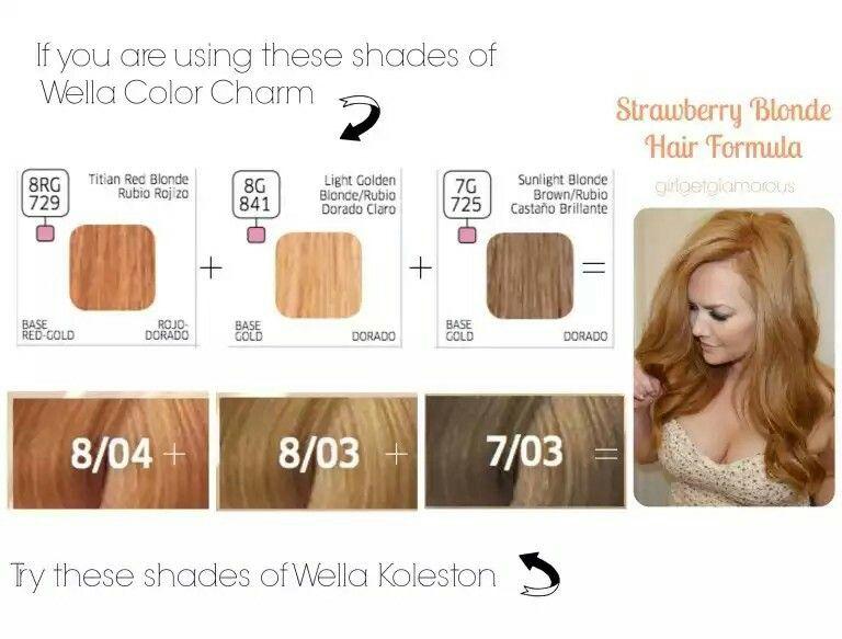 Natural Looking Diy Strawberry Blonde Color Formula Blonde Hair At Home Strawberry Blonde Hair Dye Wella Hair Color
