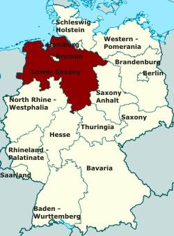 The region of lower saxony in germany this is the area the the region of lower saxony in germany this is the area the saxons sciox Image collections