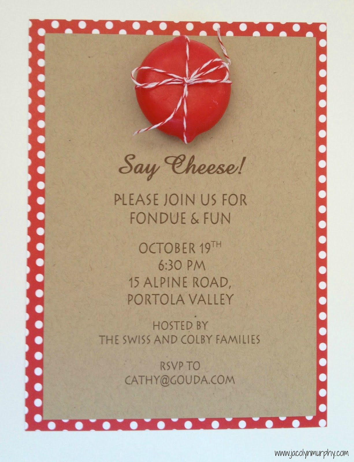 Image result for fondue party invites | Ideas for the House ...