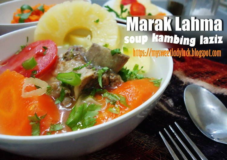 Resep Marak Lahma Sop Kambing Arab Tanpa Santan Oleh Mysweet Ladyluck Resep Resep Masakan Resep Makanan Resep