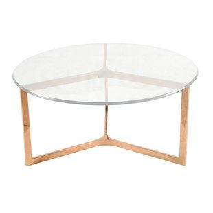 Shop Wayfair For The Best Rose Gold Coffee Table Enjoy Free - Wayfair gold coffee table