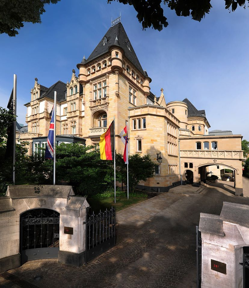 Hotel Villa Kennedy in Frankfurt am Main
