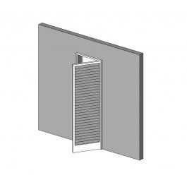 Adjustable Louvre Door Revit model | 3D Door CAD models