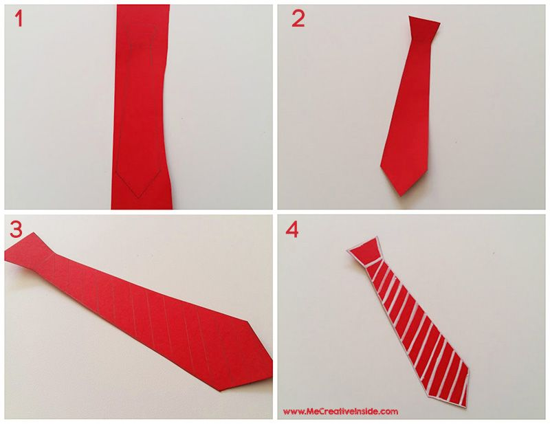 festa del papà segnalibro cravatta Me CreativeInside