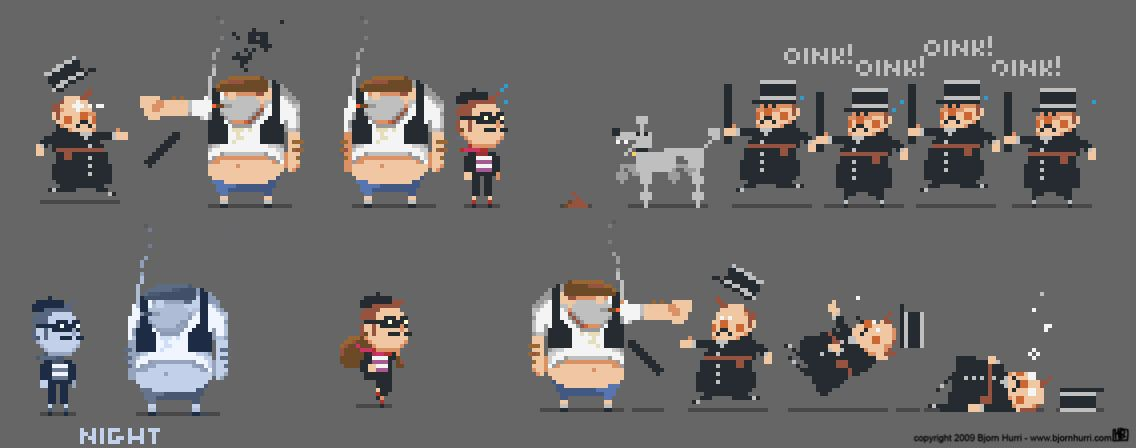 pixel art for game