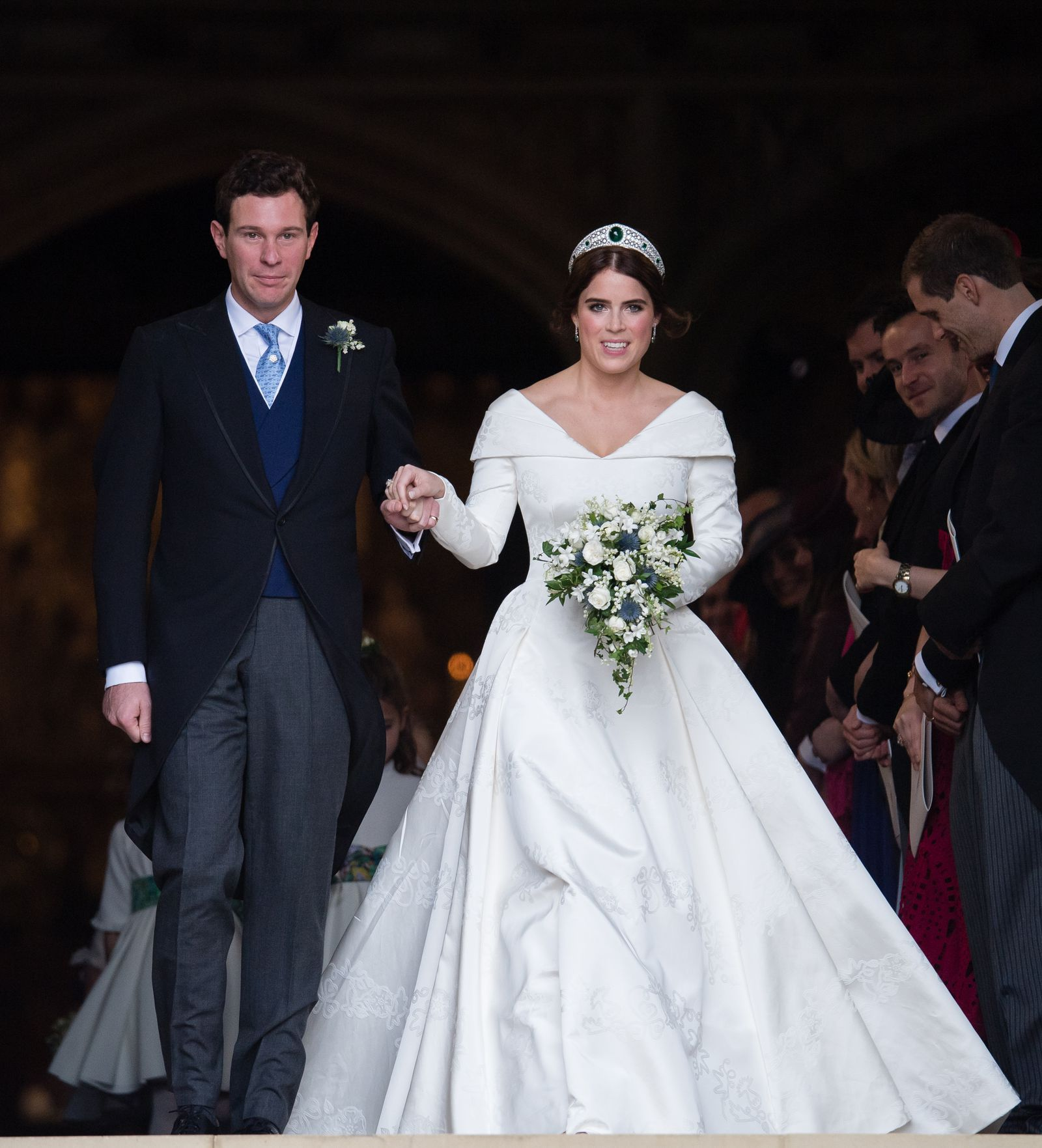 See Every Gorgeous Photo Of Princess Eugenie In Her Wedding Dress Townandcountrymag Com Eugenie Wedding Kate Wedding Dress Wedding Dresses [ 1763 x 1600 Pixel ]