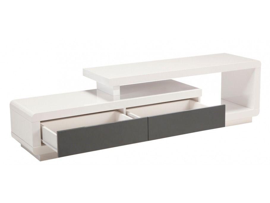 Mueble de tv moderno en madera lacada ref artaban 499 for Muebles la ardilla