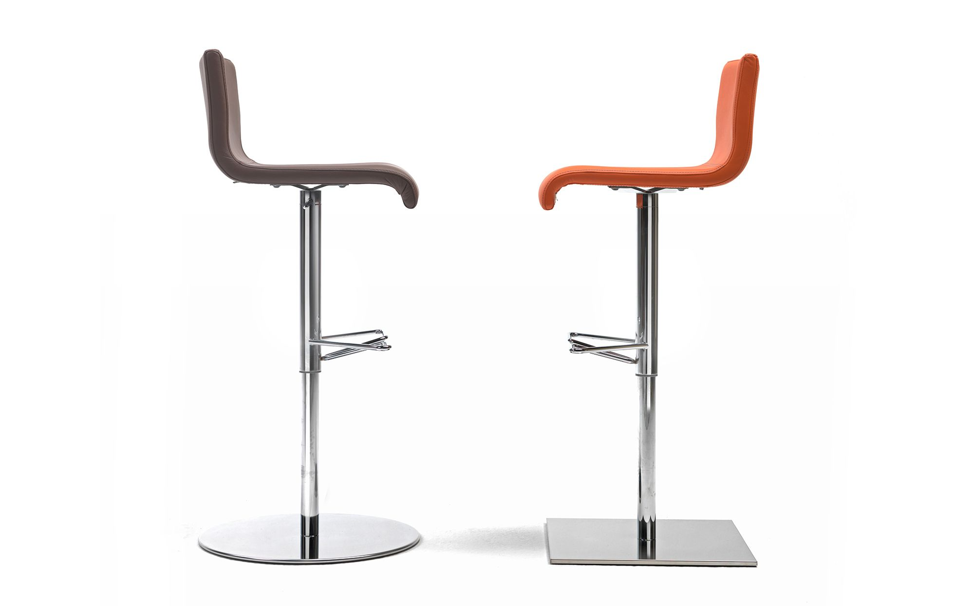 Amba Barstools Are Always 100 Made In Italy Leather Bar Stools