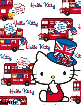 Hello Kitty in UK