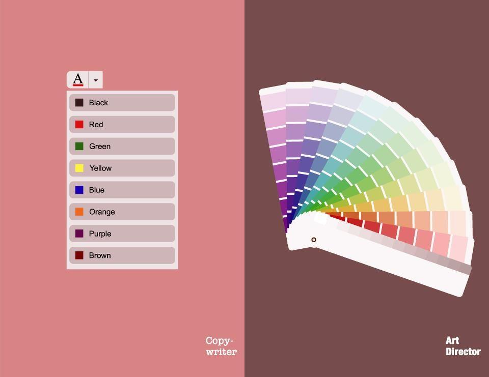 Copywriters VS Art Directors