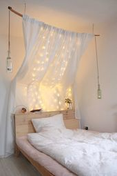 Diy Traumhaftes Himmelbett In 2020 Ikea Hack Wohnzimmer Himmelbett Ikea Bett