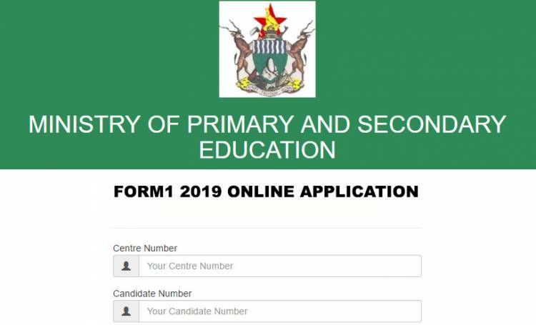 Ministry Of Primary And Secondary Education In Zimbabwe To Activate 2019 Form 1 Online Application Secondary Education Education Online Application