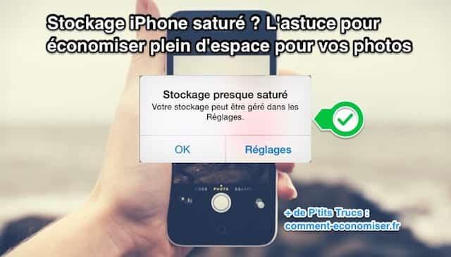 Stockage iPhone Saturé ? L'Astuce Qui Va Vous Faire