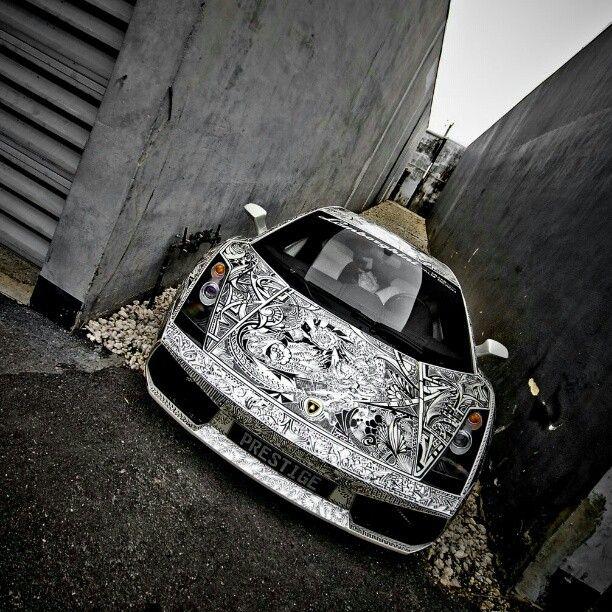 Lamborghini, vehicle wrap