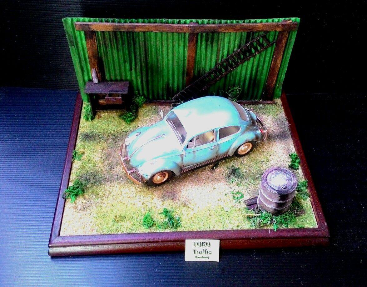Diorama Volkswagen Junkyard Skala 1 24 Part 15 Harga Udah Termasuk 64 Aksesoris Truck Mobil Ukuran