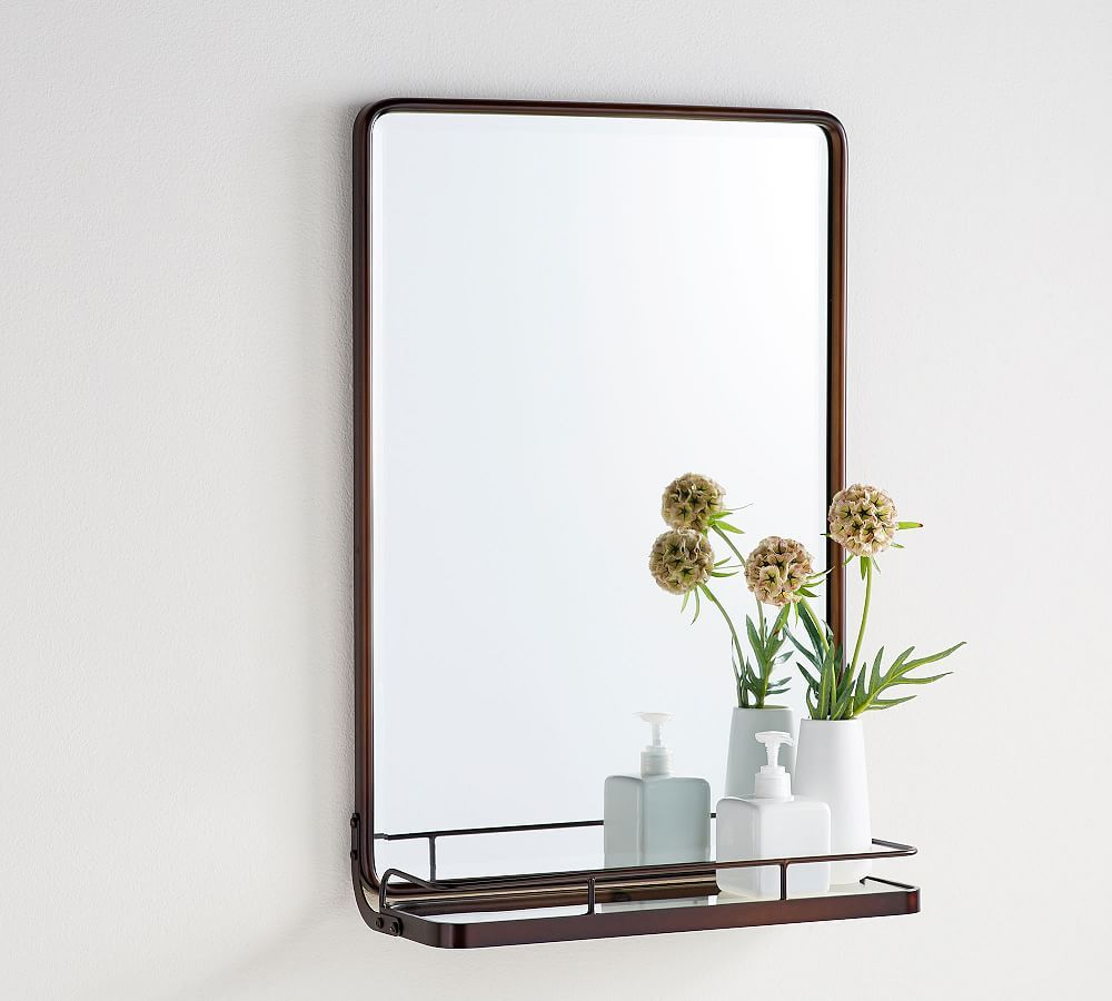 Vintage Mirror With Shelf In 2019 Products Pinterest Vintage