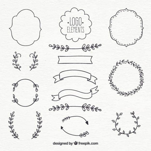 Téléchargez Collection Déléments De Logo gratuitement